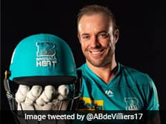 """In Some Of The Best Form"": AB De Villiers Confident Ahead Of BBL Debut"