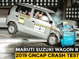 Video : Maruti Suzuki Wagon R Gets 2 Star Crash Test Rating