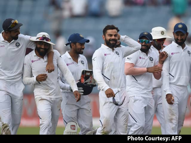 India Break A Flurry Of Records, Clinch Test Series In Style