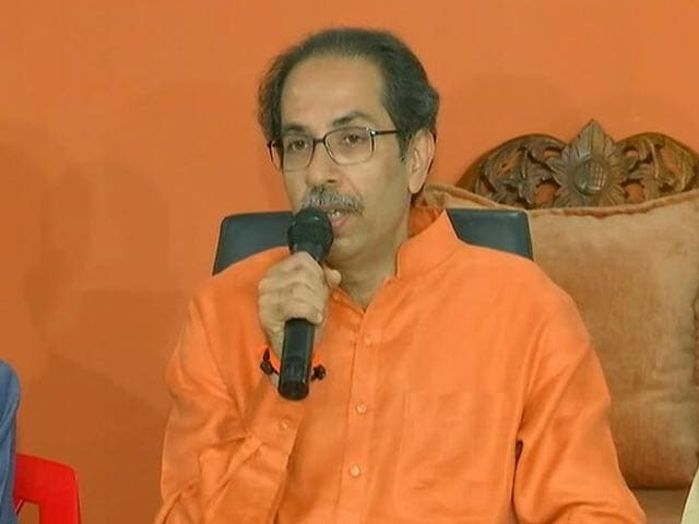"""Video : """"Time To Implement 50:50 Formula"""": Uddhav Thackeray's Reminder To BJP"""