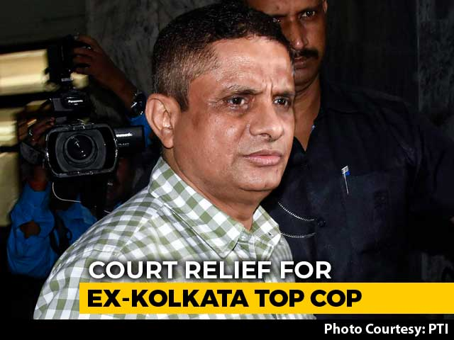 Video : Ex-Kolkata Top Cop Gets Protection From Arrest In Saradha Chit Fund Scam