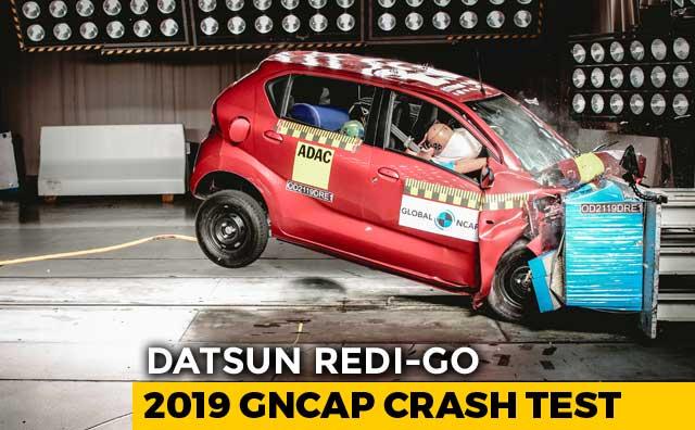 Datsun redi-GO Gets 1 Star Crash Test Score