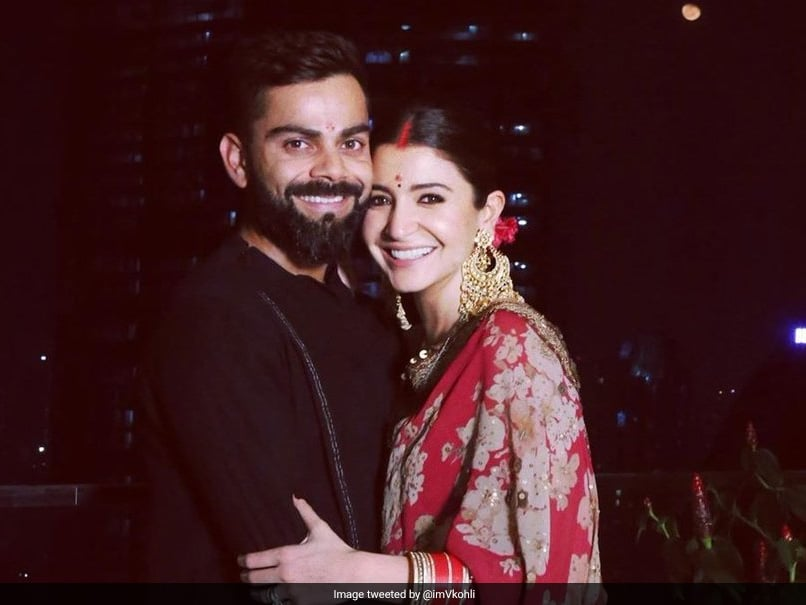 Virat Kohli posts adorable photo with wife Anushka Sharma on Karwa Chauth