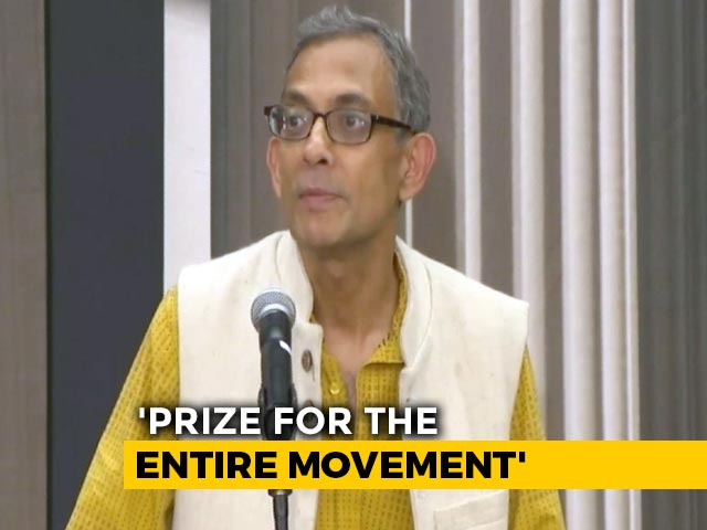Video : Abhijit Banerjee's Reaction After Winning The Economics Nobel