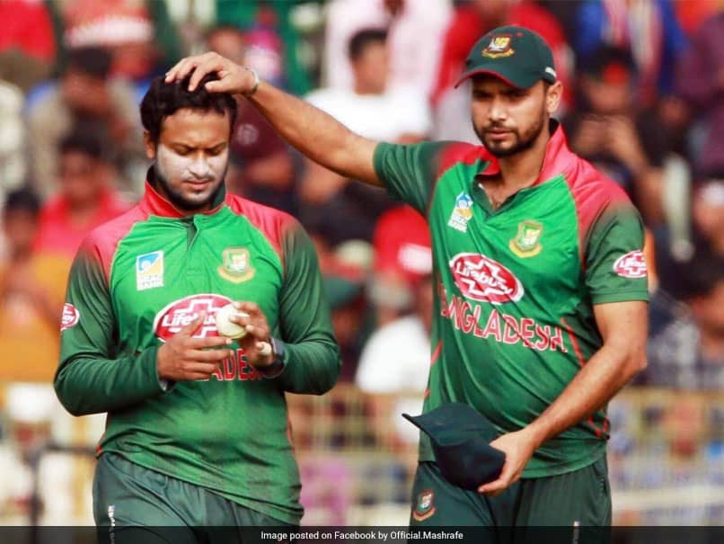 Bangladesh Cricket Board Drops Shakib Al Hasan, Mashrafe Mortaza From New Central Contract List