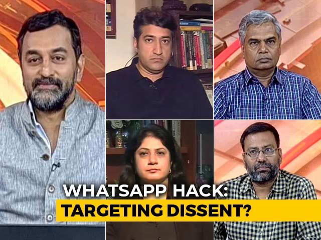 Video : WhatsApp Hack: Targeting Dissent?