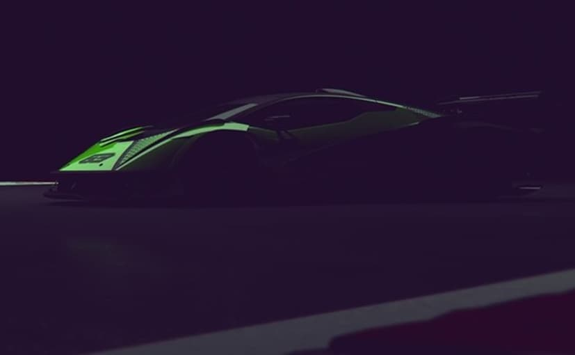 Lamborghini's new hypercar looks a bit similar to the Aventador.