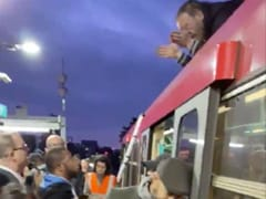 Climate Activist Climbs On Top Of London Train, Dragged Off By Commuters