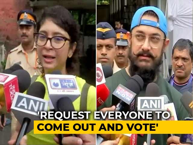 'We Love Our City, We Love Our State': Aamir Khan, Kiran Rao Cast Vote