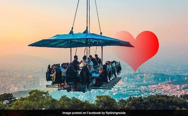 Food - And Adventure : 160 அடி உயரத்தில் ரெஸ்டாரெண்ட்