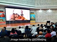 Gandhi Jayanti Beijing Function Shifted To Indian Embassy Over Permission