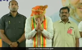 Crowd Cheers For PM During Pune Rally Speech, He Responds With A Gesture