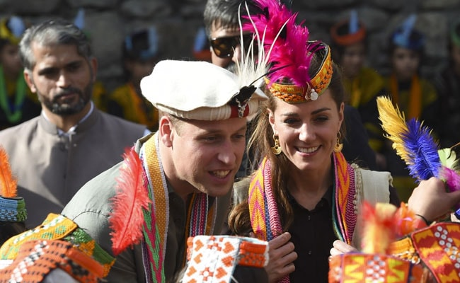 Glaciers And Tribal Dancing: Prince William And Kate Visit Pakistan's North