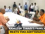 Video : Kamlesh Tiwari's Family Meets Yogi Adityanath, Demands Capital Punishment