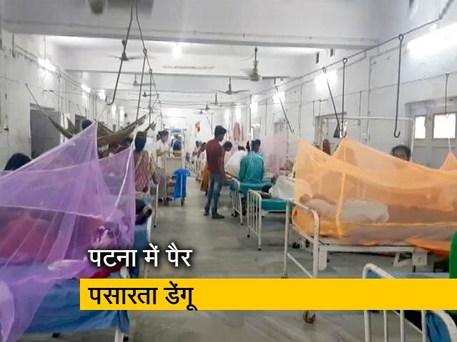 Video : बाढ़ के बाद पटना में डेंगू का कहर, 1500 से ज्यादा है मरीज