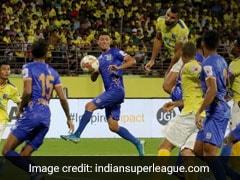 ISL: Amine Chermiti Late Goal Helps Mumbai City Stun Kerala Blasters