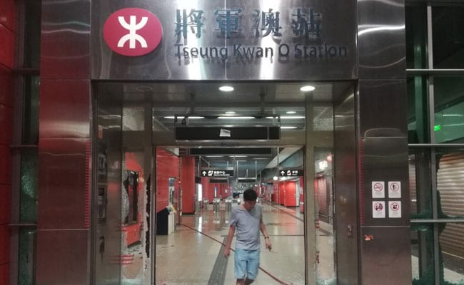 Rail Services Across Hong Kong Suspended After Violent Protests