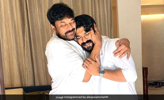 Ram Charan Thanks Dad Chiranjeevi For Making Sye Raa Narasimha Reddy A 'Boss Buster'