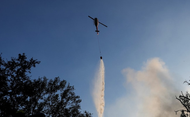 New Wildfire Near Ronald Reagan Presidential Library Outside Los Angeles