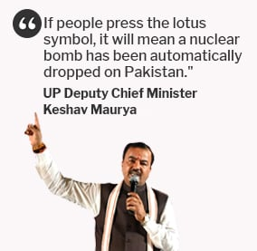 Voting For BJP Means 'Nuclear Bomb Dropped On Pak', Says Party Leader