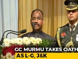 Video : GC Murmu, RK Mathur Take Reigns Of New Union Territories J&K, Ladakh