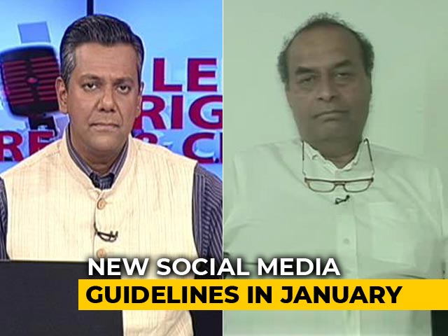 "Video : ""Not In Confrontation With Centre"": Facebook Lawyer Mukul Rohatgi To NDTV"