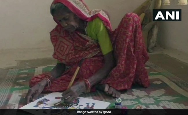 Paintings Of 80-Year-Old Madhya Pradesh Woman Displayed In Italy