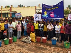 Kendriya Vidyalaya Students Collect 48 Metric Ton Litter On Plogging Run
