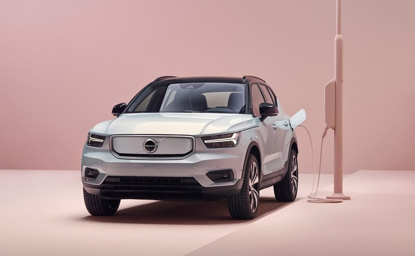 The Volvo XC40 Recharge will be the first all-electric car from the company in India
