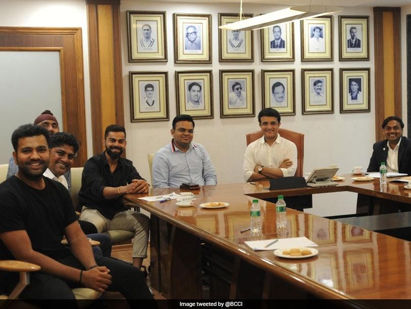 Sourav Ganguly meets Virat Kohli, Rohit Sharma to discuss roadmap