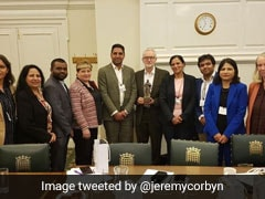 """Appalling,"" Says BJP To Jeremy Corbyn's Tweet On Meeting Congress Group"