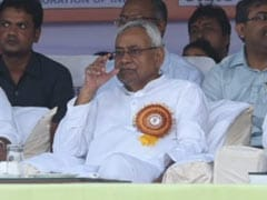 No BJP Leader With Nitish Kumar At Dussehra Event Amid Rift Over Floods