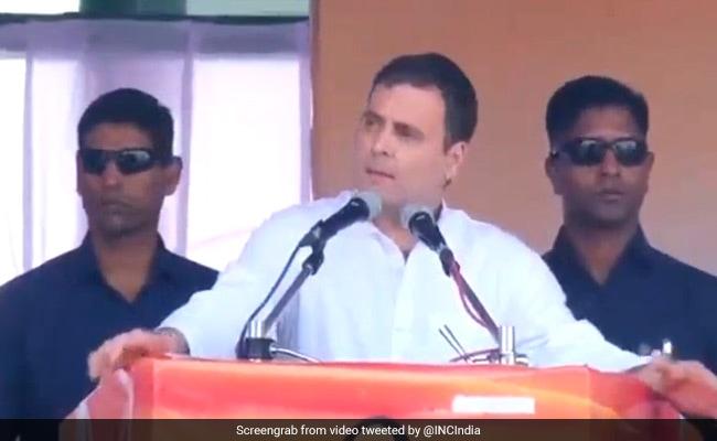 Assembly Elections 2019: राहुल गांधी ने पीएम मोदी पर कसा तंज, कहा- युवा जब नौकरी मांगते हैं तो आप...