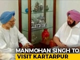 Video : Manmohan Singh To Visit Kartarpur In Pak For Guru Nanak Birth Anniversary