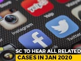 Video : Rules To Regulate Social Media By January 15: Centre To Supreme Court