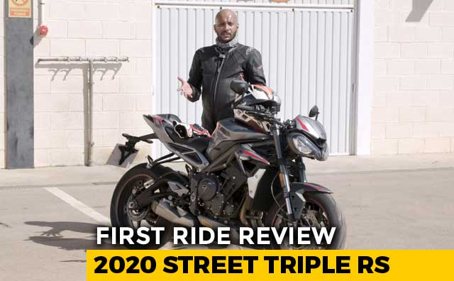 Video : 2020 Triumph Street Triple RS First Ride Review