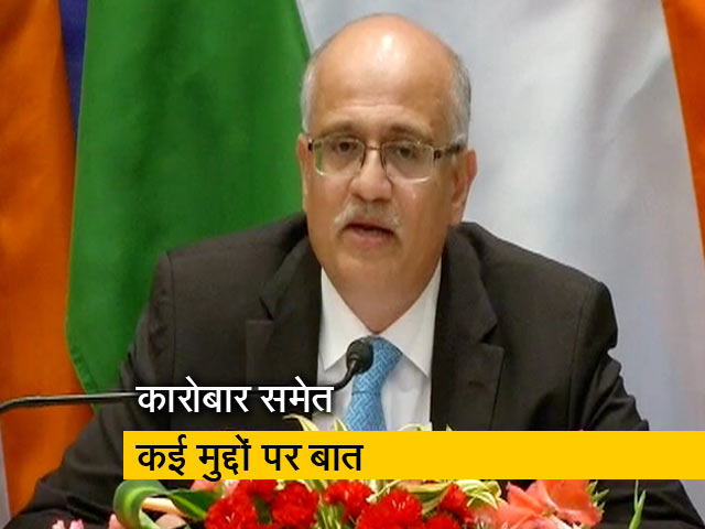Videos : पीएम मोदी और चीनी राष्ट्रपति के बीच 2 दिनों में 6 घंटे बातचीत हुई: विदेश सचिव