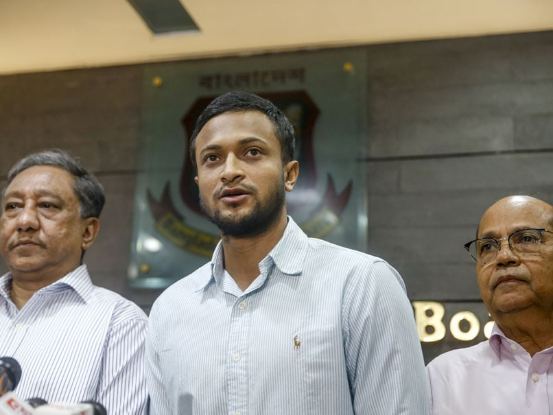 Bangladesh Cricket Board Knew Nothing About ICC Investigation On Shakib Al Hasan, Says Nazmul Hassan