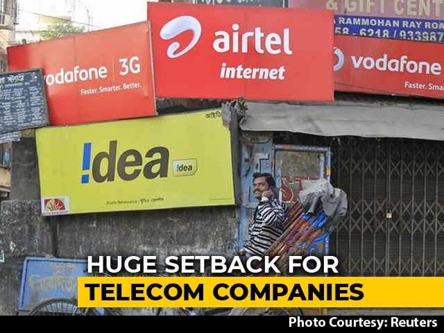 Video : Telecom Operators Face Rs. 1.4 Lakh Crores Payout After Supreme Court Order