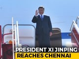 """Video: """"Welcome To India,"""" Tweets PM Modi As Xi Arrives In Chennai"""