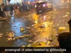New Jersey Road Covered In Trash Post Diwali Celebration, Twitter Enraged