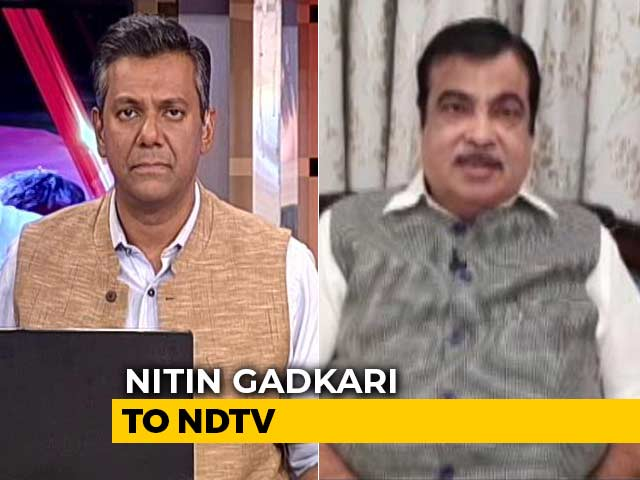 "Video : ""Credit Goes To PM Modi For Development Agenda"": Nitin Gadkari To NDTV"
