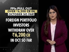 Video: Foreign Portfolio Investors Pulled Out Over 6,200 Crores In Just 2 Weeks