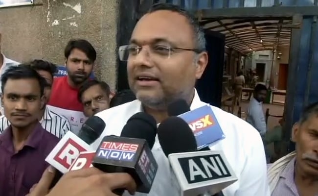 """INX Case Played Out For """"Voyeuristic TV Audience"""", Says Karti Chidambaram"""
