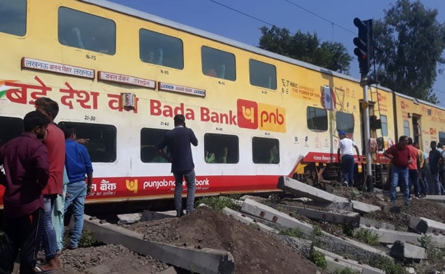 3 Coaches Of Lucknow-Delhi Double-Decker Train Derail In UP