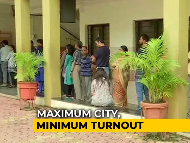 Video : Voter Turnout In Mumbai, At 44.4%, Is Lowest Since 1989