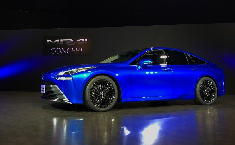 The Toyota Mirai Hydrogen Fuel Cell car will be showcased at the Tokyo Motor Show 2019