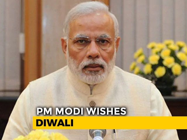 Video : In Diwali Message, PM Wishes For Happiness, Prosperity And Good Luck