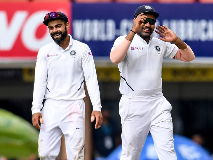 "Rohit Sharma ""Thankful"" To Virat Kohli, Ravi Shastri For Opportunity As Test Opener"