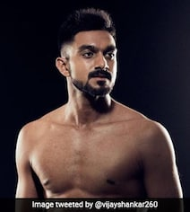 Vijay Shankar Trolled For Posting Body Transformation Picture On Twitter